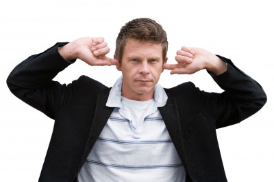 Man-not-listening